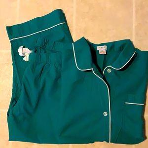 J. Crew Vintage Pajama Set XL